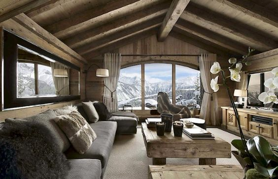 Luxurious Chalet Izar Offering Extended Views of the French Alps, France (10)