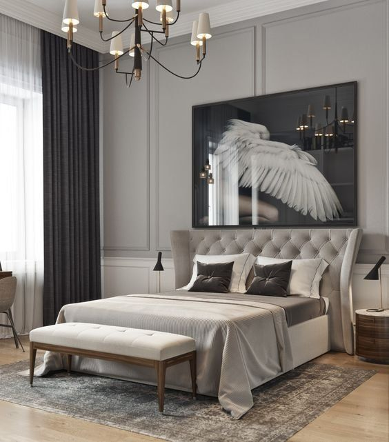 Luxury Bedroom Design Idea #homedesignideas #homedecorideas #interiordesignideas #decorationideas #bedroomdesignidea #bedroomdecorideas #updatedhome