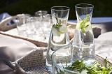 Nakrycia stołu w letnim klimacie