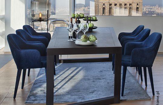 Kolorowe krzesła do nowoczesnej jadalni!