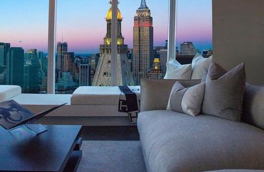 Wnętrze w nowojorskim stylu