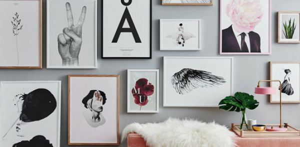 Kate Moss, Bond a może okładki Vogue'a? – grafiki i obrazy, które pomogą nadać mieszkaniu styl