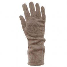 Rękawiczki z kaszmiru Taupe MINOU Cashmere