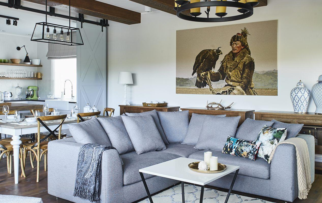 Sofa Paso Doble marki MTI Furninova to wspaniała nowoczesna sofa narożna