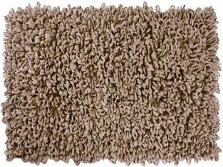 Dywanik łazienkowy beżowy Loops 50×70 cm