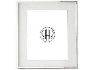 Ramka na zdjęcie z passe-partout BBHome Manhattan Slim 20×25 cm