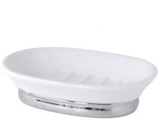 Mydelniczka porcelanowa Feminine White 14×4 cm