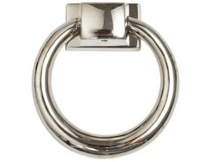 Kołatka do mebli Ring Chrome 10,5×3,5cm