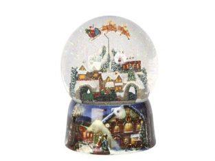 "Kula grająca BBHome ""Christmas Santa Claus"" L"