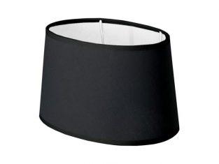 Abażur Negro Oval 18x20x12,5 cm