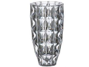 Wazon ze szkła kryształowego Bohemia Sparkler 28 cm