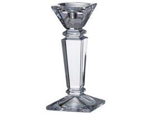 Świecznik ze szkła kryształowego Ceasar 25 cm