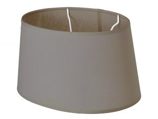 Abażur Chic Coffee Oval 22x26x14 cm