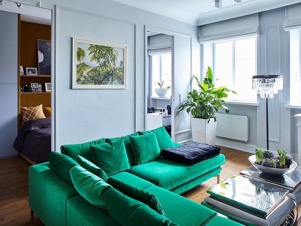 Sofa Blues MTI Furninova to typ modułowej kanapy narożnej