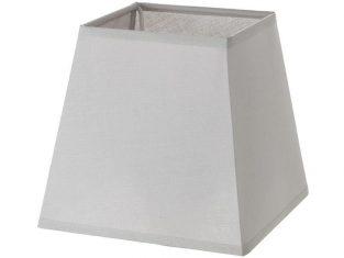 x Abażur kwadratowy Chic Grey 10x14x13 cm