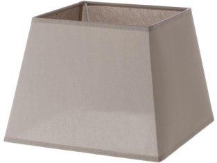 x Abażur kwadratowy Chic Coffee 15x20x15 cm