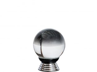 Szklana gałka do mebli kula Clear 30 mm