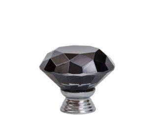 Uchwyt do mebli Diamond Black 30 mm