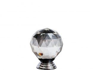 Uchwyt do mebli Crystal Clear 25 mm