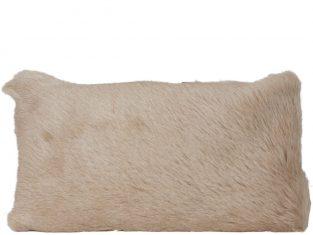 Poduszka futrzana Goat Cream 30x50cm