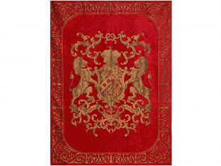 Pled dekoracyjny FS Home Collections Fiorantello Red 175×235 cm