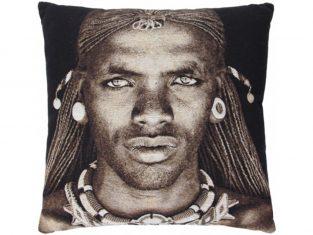 Poduszka żakardowa FS Home Collections Samburu Boy 45x45cm