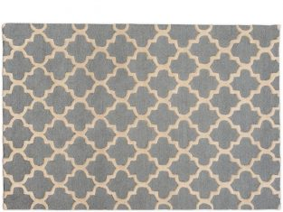 Dywan Trellis Grey Cream 120x180cm