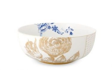Salaterka Pip Studio Royal White Blue 23cm