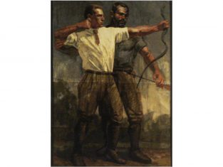 Pled dekoracyjny żakardowy FS Home Collections Archers 140x200cm
