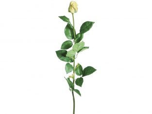 Gałązka róży BBHome Rose Yellow 62 cm