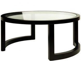 Stolik kawowy BBHome Gusti Black 90×40 cm