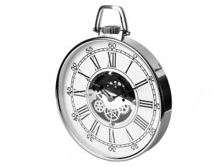 Zegar ścienny dekoracyjny BBHome Roman White 38 cm