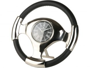Zegar dekoracyjny BBHome Race Black 36 cm