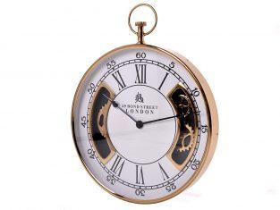 Zegar ścienny BBhome Roman Gold White 51 cm