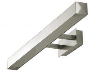 Kinkiet nowoczesny Line Inox 60x10x4 cm