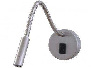 Kinkiet punktowy Wire Cylindre Rnd Inox 8x20x35 cm