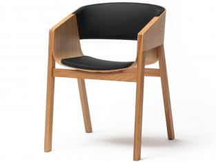 Krzesło tapicerowane bukowe Merano Ton