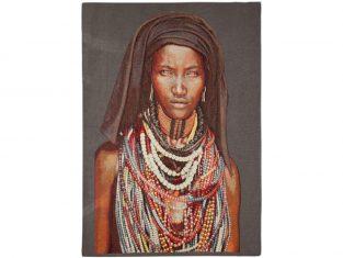 Pled dekoracyjny żakardowy FS Home Collections Baro Tura Girl 90x140cm
