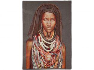 Pled dekoracyjny żakardowy FS Home Collections Baro Tura Girl 140×200 cm