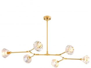 Lampa wisząca Eichholtz Salasco Gold 133x88x14 cm