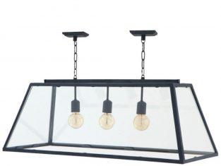 Lampa wisząca Eichholtz Harpers Black 100x38x36 cm