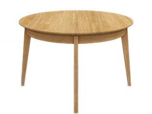 Stół okrągły rozkładany Miloni Fox 125 cm