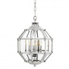 Lampa wisząca Eichholtz Owen Silver S 43x63cm