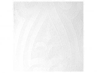 Serwetki papierowe o fakturze lnu Lily White 40×40 cm