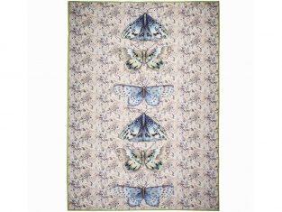 Pled dekoracyjny z wełny merynosów Designers Guild Issoria Jade 130×180 cm
