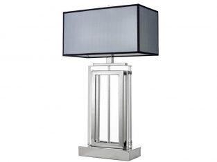 Lampa stojąca Eichholtz Arlington Silver Glass 25x38x67,5 cm