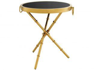 Stolik okrągły Eichholtz Omni Gold 52×60 cm