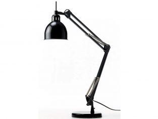 Lampa biurkowa czarna Frandsen Job Matt 68cm