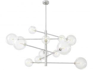 Lampa wisząca Eichholtz Argento Silver 130×93,5 cm