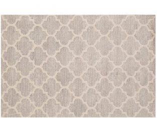 Dywan koniczyna marokańska szary Diamond Cut 153×244 cm